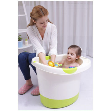 Big size plastic baby deep bathtub washing tub
