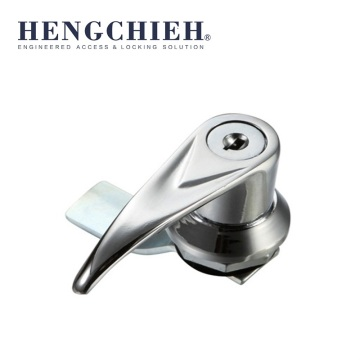 Good Quality for Stainless Steel Handle Locks ZDC LH&RH Turning L-Handle Cabinet Locks export to Martinique Wholesale