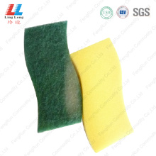 Waves scouring sponge durable kitchen cleaning