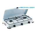 3 Burners Restaurant Portable Natural Gas Stove