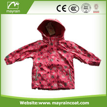 Full Printing PU Kids Raincoat