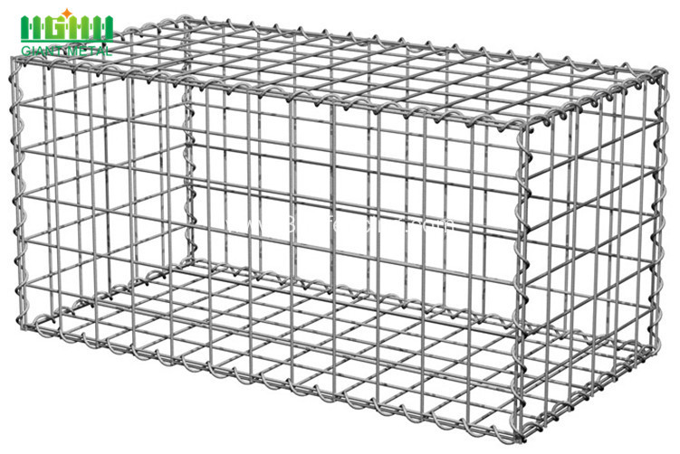 Hexagonal Wire Netting Hexagonal Welded Gabion Boxes