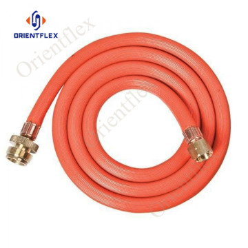 3 meter gas pipe line orange
