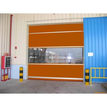 zipper type high speed door