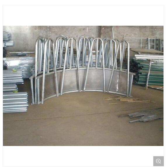 Steel Cattle fence