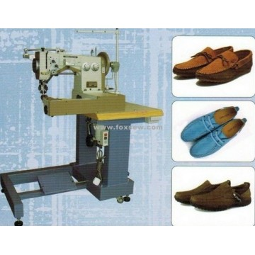 Stitching Machine for Tubular Moccasin