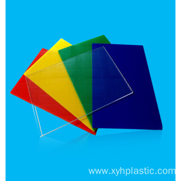 Customized for Plastic Acrylic Sheet High quality material clear cast acrylic sheets excellent board supply to United States Manufacturer