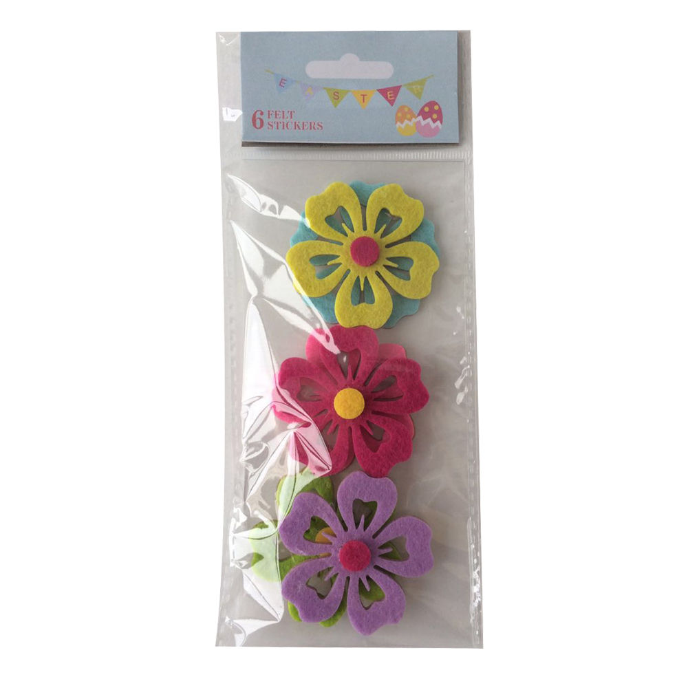 Easter Hollow Flower Sticker