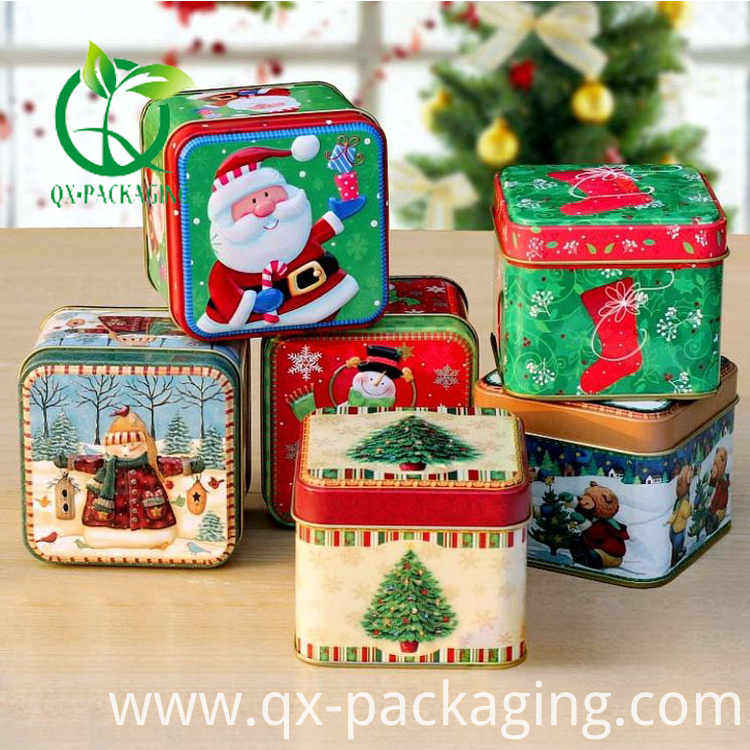 Small Christmas Tins