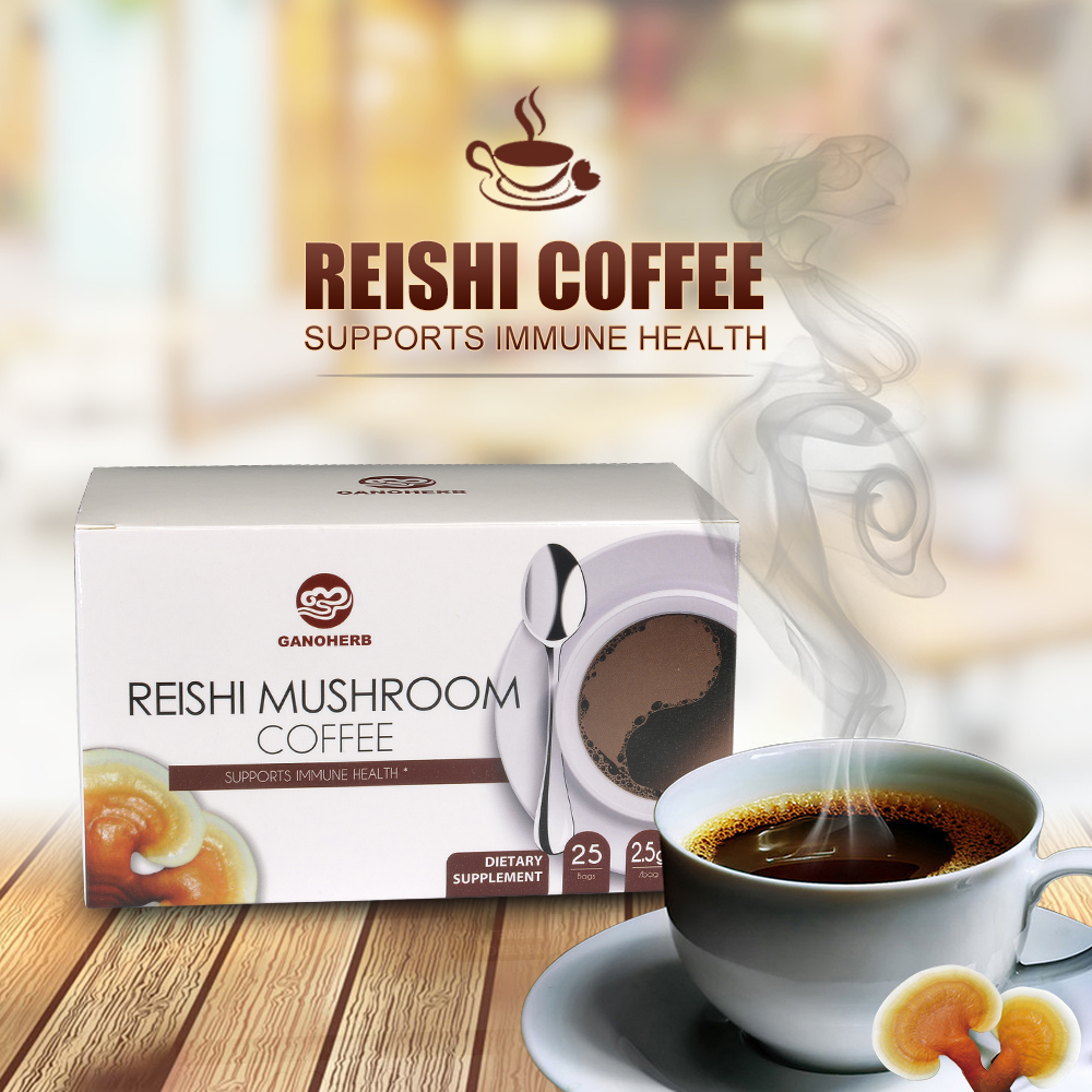 Instant Reishi in Coffee 4 In 1
