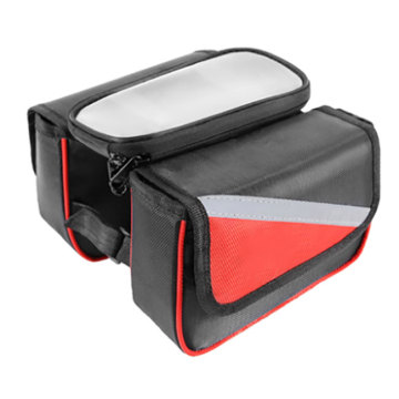 Waterproof Bicycle Saddle Bike Front Tube Phone Bag