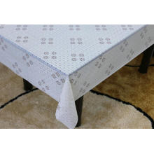 Printed pvc lace tablecloth by roll toxic