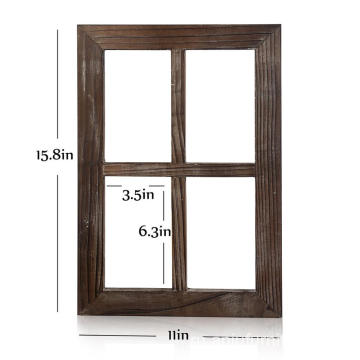 Wall home Decor Outdoor Window Rustic Barnwood Frames
