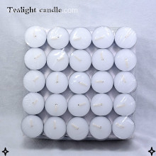 8hrs white tealight candles 23g tealight candle