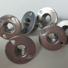 Good Quality for Custom Stamped Parts Round Brad Holes T Nuts supply to Gibraltar Manufacturer