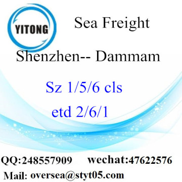 Shenzhen Port LCL Consolidation To Dammam
