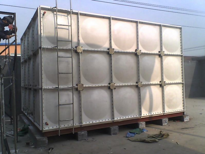 High Strength Rectangular FRP Water Tank