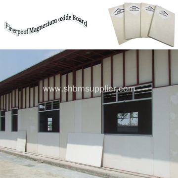 Heat-Insulating Wall Panel 8mm Fireproof MgO Board