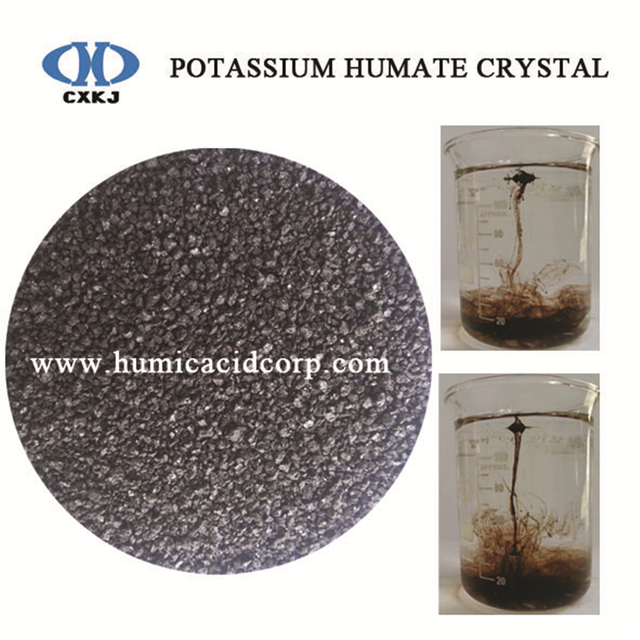 CXKJ super potassium humate shiny powder crystal flakes