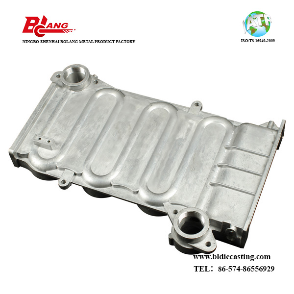aluminium alloy die casting heat exchanger