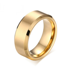 China Professional Supplier for Gold Tungsten Ring Wholesale mens gold tungsten wedding bands supply to India Wholesale