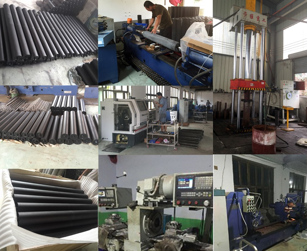 process and packaging of composite roller