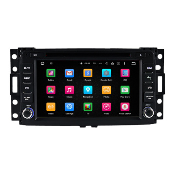 HUMMER H3 Navigation digitales TV-Bluetooth-Funksystem