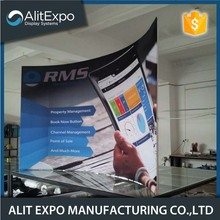 20 Years Factory for Promotion Banner Stand Tension fabric pop up display backdrop wall stand supply to France Supplier