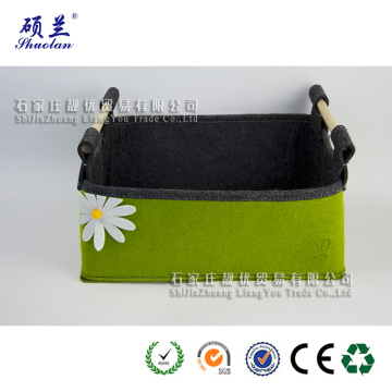 Wholesale good quality felt storage organizer bag