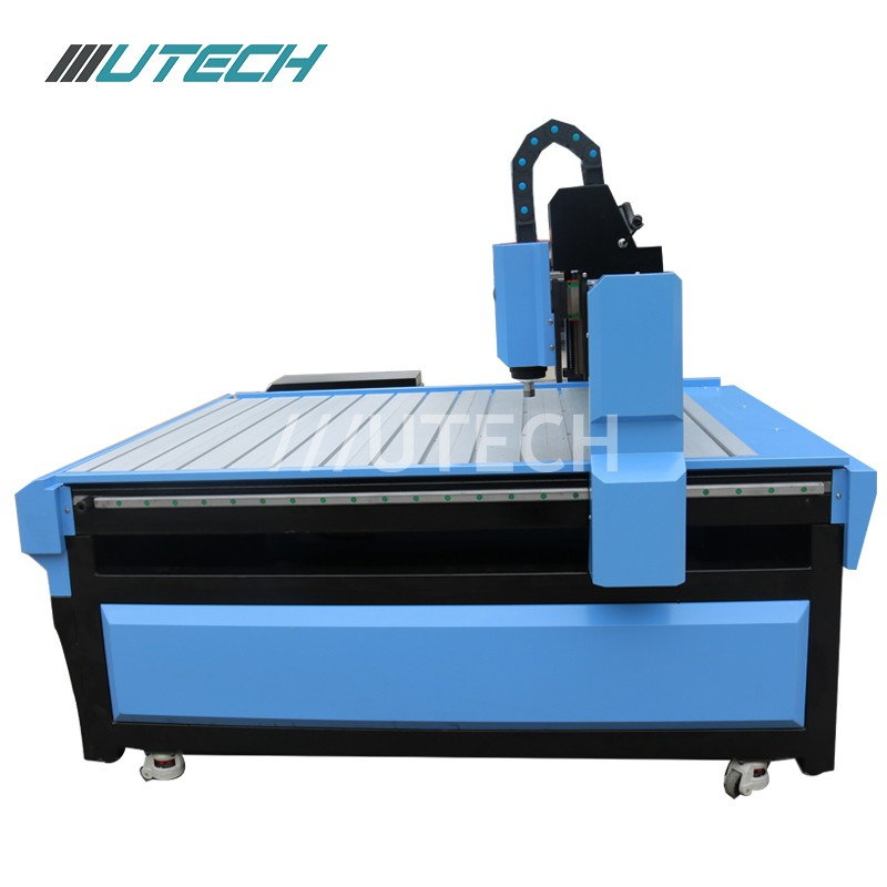 cnc wood machine with servo motor