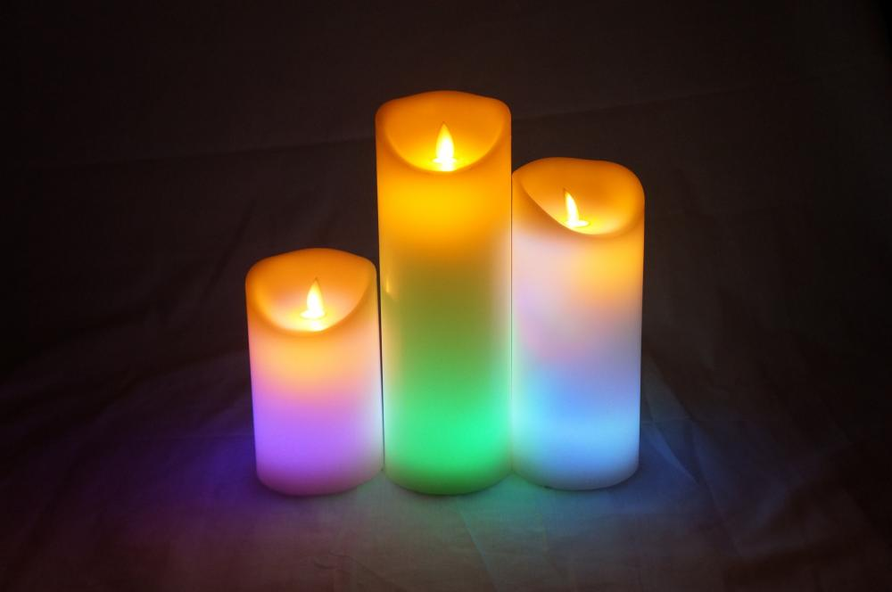 wholesale led pillar candles