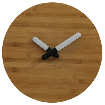 Bamboo Wall Clocks With Light