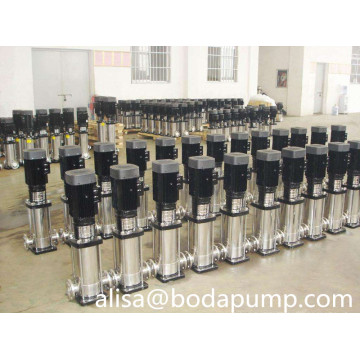 booster stainless Vertical multistage centrifugal pump