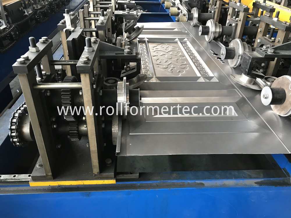 Hollow metal door rollforming line