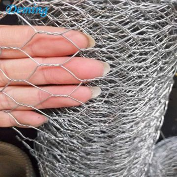 Mesh Black Plastic Coated Hexagonal Galvanised Wire Netting