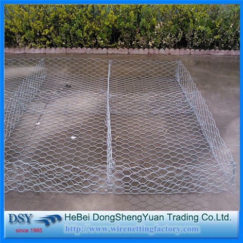 Hot Dipped Galvanized Gabion Netting Box