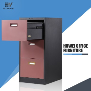 Metal 3 drawer file document office cabinet