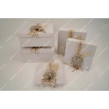 Wholesale Jewelry Handmade Gift Box