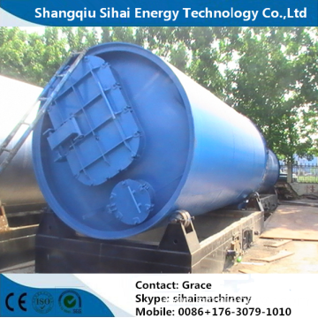 Certificated Waste Plastic Processing to Oil Equipment
