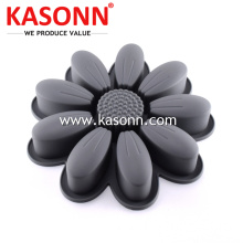 Leading for Silicone Pudding Mold Large Sunflower Silicone Cake Mold export to Albania Exporter