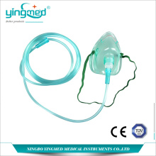 Customized for Pvc Oxygen Tubing Diposable Oxygen mask with tube supply to Nigeria Manufacturers