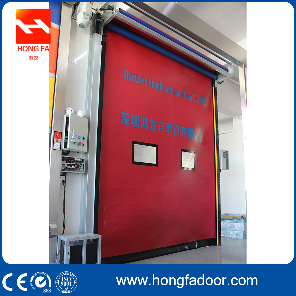 Zipper Fast Roll Up Door