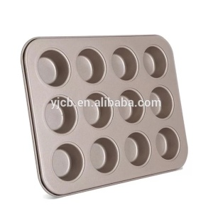 OEM Supplier for Silicone Muffin Pan Madeleines Non-stick Mini 12 Cups Cake Mold supply to Poland Wholesale