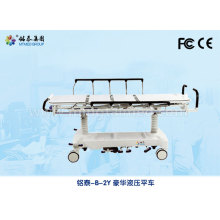 Hospital luxury hydraulic stretcher