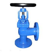 Cast Steel  Angle Globe Valve with Handwheel
