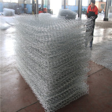 Weaved Wire Mesh Gabions Box for River Protection