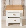 Bedroom Furniture 2 Drawer Bedside Table Night Stand Chest Cabinet Grey or White
