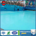 Polyurea coating for swimming pools system