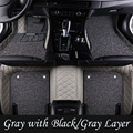 Factory Supply 5D Luxury Unique Heated Car Mats for Custom Fit Honda CRV