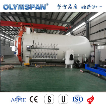ASME standard carbon fiber material treatment autoclave
